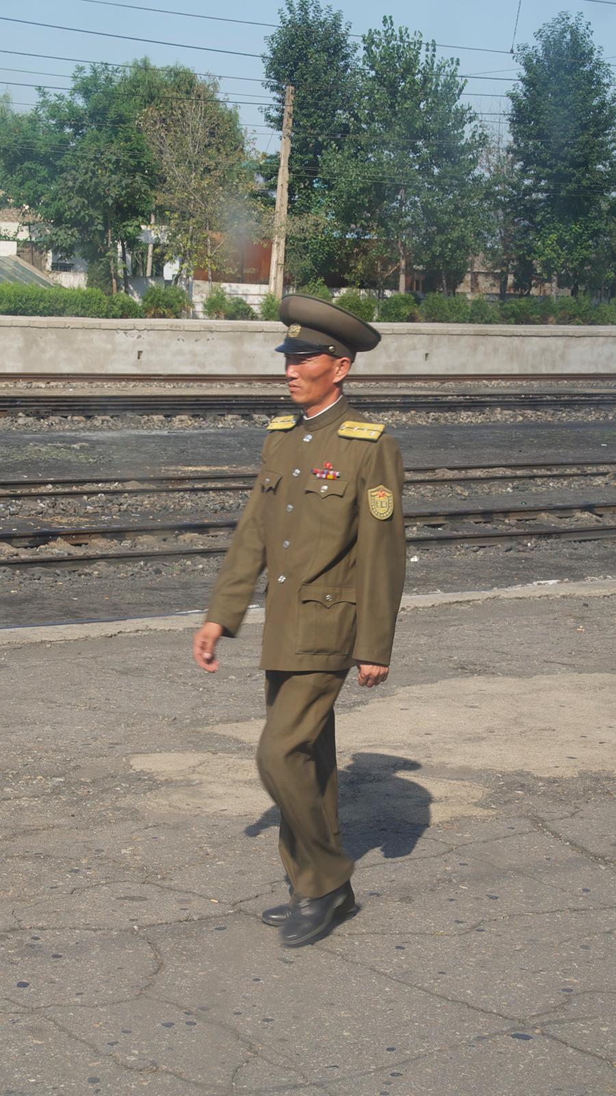 Militair in Noord-Korea
