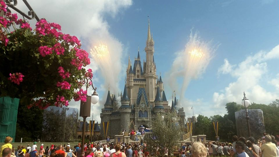 Vuurwerk in Magic Kingdom, Florida